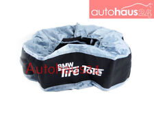 BMW SET OF 2 TIRE TOTES  CARRYING BAG WINTER TIRES 36110397168 GENUINE OEM NEW
