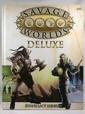 Savage Worlds Deluxe Hardback Rule Book (10014) 2011 Pinnacle Entertainment