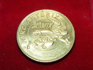 Monnaie Médaille PARC ASTÉRIX 2010 3,4cm Trésors de France Arthus-Bertrand 2008