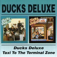 DUCKS DELUXE - DUCKS DELUXE/TAXI TO THE TERMINAL ZONE 2 CD NEU