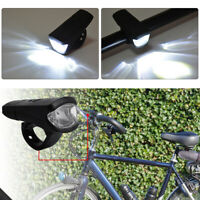LED Bike Front Light Wide Beam Bicycle Headlight Cycling Flashlights Torch USB