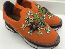 Dolce&Gabbana Sneaker Gr.37 Orange/Strass