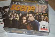 Scene It? Twilight Deluxe Edition The DVD Game Trivia New Moon Trailer Puzzles