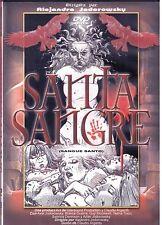 Santa Sangre Sangue Santo Horror Alejandro Jodorowsky Dvd