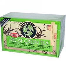 Triple Leaf Tea, Decaf Green Tea, 20 tea bags