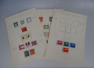 BUND, Jahrgänge 1955-1962, tadellos postfrisch, Mi. 545,--