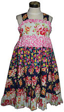 New BUTTERFLYBEES Size 8 Custom Boutique Dress Jennifer Paganelli LUCKY GIRL