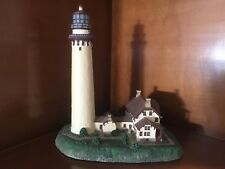 Grosse Point Lighthouse, Illinois 1874 Danbury Mint Quality 1994