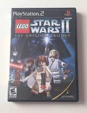 SONY PS2 LEGO Star Wars II The Original Trilogy (BLACK LABEL VERSION & COMPLETE)