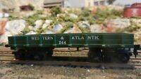Mantua Tyco HO Western & Atlantic Old Time Civil War Platform Car, Exc