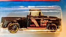 HOT WHEELS '56 FLASHSIDER #1 RACE TRUCK SERIES BLACK W/RACING GRAPHICS MOC