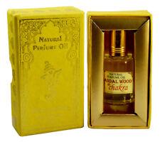 Chakra Sandalwood Fragrance 100% Natural Perfume Oil, Made In India-10Ml