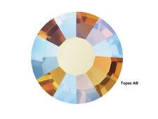 1440 Preciosa Genuine Czech Crystals 16ss Topaz AB Viva Flatbacks, ss16 4mm