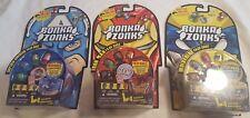 Bonka Zonks Bonkazonk Wolverine, Captain America, Iron Man set of Face Case NIB!
