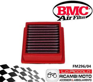 Nuevo Filtro de Aire Deportivo BMC Lavable FM296/04 Yamaha T-Max 500 Año 2004