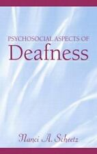 Psychosocial Aspects of Deafness-ExLibrary