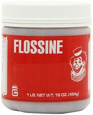 FLOSSINE for Cotton Candy -  LEMON 16 OZ Gold Medal Brand 1 LB JAR pound