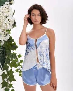 Women Satin Camisole Set   Short Pyjama Set      European Products