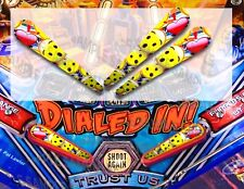 (NEW ***** ITEM 2018) DIALED IN Pinball Flipper Armour Mod 3 piece set