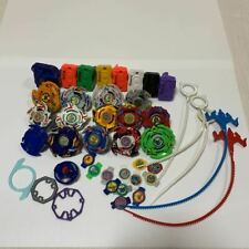 Takara Tomy Beyblade Huge Lot of 14 Rare with Launcher