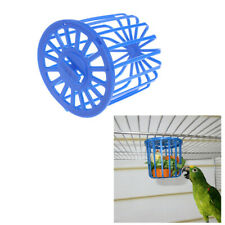 Birds Parrots Food Feeder Fruit Vegetable Cage Holder Hanging Basket Containers