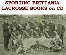 Lacrosse Collection Vintage Books on Disc Spalding Official Guides Beers 1869