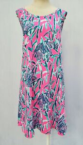 "New Lilly Pulitzer Women's Raylee Dress ""Extra Lucky,"" S, M, L"