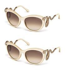 Brand New Roberto Cavalli Sunglasses RC 889S 25F Ivory/Gold BrownFor Women