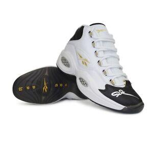 "Allen Iverson signed Reebok Question Mid ""Respect My Shine"" Shoes EG6274 JSA"