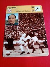 CARD FOOTBALL SOCCER 1978 ALFREDO DI STEFANO   EDITION REINCONTRE