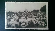 Vintage French B&W Postcard 1938 Terre plein du Pont Saint Benezet Les Fileuses