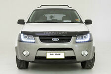 LED Projector Black Headlights for Ford Territory SX SY 04 05 06 07 08 DRL Style