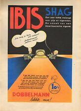 RECLAME VOOR IBIS SHAG 03 - KEES MEYS/WEEKBLAD PANORAMA 1935