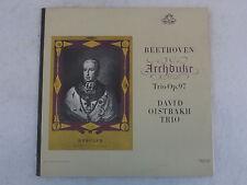 Beethoven ARCHDUKE TRIO OP. 97 David Oistrakh Trio Angel 35704 Near Mint-