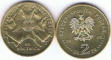 90. Jahre Unabhaengigkeit Polen 2008 2 Zl Muenze  Bfr