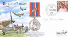 BB24 RAF signed cover WW2 Battle of Britain RAF cover signed ROSE