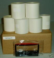 VeriFone Printer 250 Paper Rolls/Ribbon