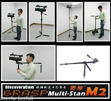 Discoverycam camera tripod monopod Camera stabilizer w/ head for DSLR HDV