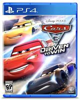 **NEW & SEALED** Cars 3: Driven to Win PlayStation 4 PS4 Disney Pixar Video Game
