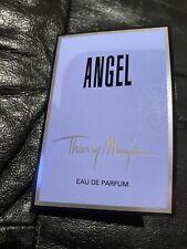 Thierry Mugler ANGEL Eau De Parfum EDP Spray Women Sample Vial .04 oz Card New