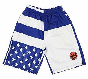 Zipway NBA Men's New York Knicks Flag Athletic Shorts