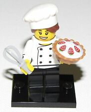 LEGO NEW SERIES 17 GOURMET CHEF COOK MINIFIG MINIFIGURE 71018