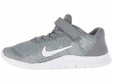 Nike Sz 13 Boy Kids Flex 2018 Rn Running Shoes Cool Grey New