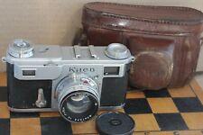 Soviet Contax copy KIEV II Arsenal 35mm RF camera Jupiter-8 2/50mm lens #549655