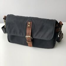 ONA Bowery Black Small Shoulder Camera Bag Leica SLR