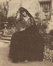 Belle photo d'une Belle Femme Andalouse ? Espagne Vintage ca 1900