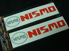 2x Nismo Decal Sticker Vinyl JDM Japan Nissan