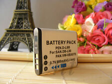Db-L80 Battery pack for Sanyo Xacti Vpc-Cg10Bk Cg10 Dual Digital Camera New