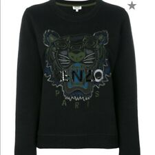 KENZO XS Black Tiger Sweatshirt NEW