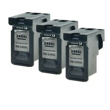3PK PG-240XL Ink Cartridges for Canon PIXMA MX439 MG4220 MG2220 Remanufactured